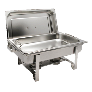 superior-equipment-supply - Winco - Get-A-Grip Chafing Dish 8 Qt. Stainless Steel