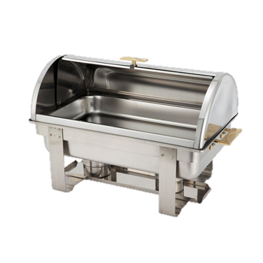 superior-equipment-supply - Winco - Roll Top Chafer 8 Qt. Stainless Steel