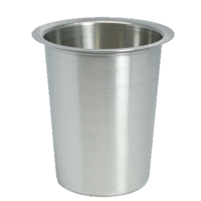 "Flatware Cylinder Stainless Steel Solid 4.5"" X 4.5"" dia."