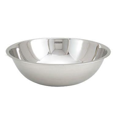 superior-equipment-supply - Winco - Stainless Steel Economy Mixing Bowl 16 Quart