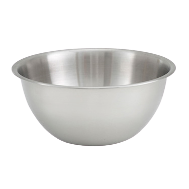 "Mixing Bowl 8 qt. Heavy Duty Stainless Steel 12"" Diameter x 5"" Height"