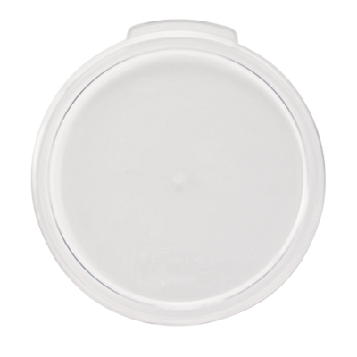 "Cover Only for 12 qt./18 qt./22 qt. Round Clear Polycarbonate 12-5/8"" x 13"" x 5/8""H"