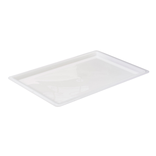 "Food Storage Box Cover White BPA Free Polypropylene 18"" x 26"""