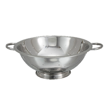 superior-equipment-supply - Winco - Stainless Steel Colander 14 qt