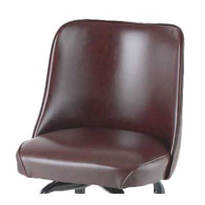 Royal Industries Standard Bucket Replacement Seat Brown Vinyl