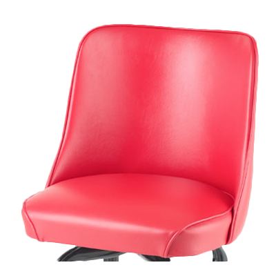 Royal Industries Standard Bucket Replacement Seat Red Vinyl