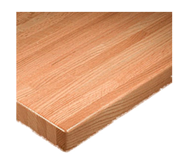 "superior-equipment-supply - Oak Street Mfg - Oak Street Rectangular Economy Table Top 30""x 60"" Solid Wood Maple"