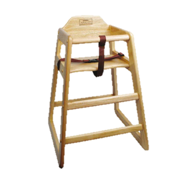 superior-equipment-supply - Winco - High Chair Natural Finish 29""