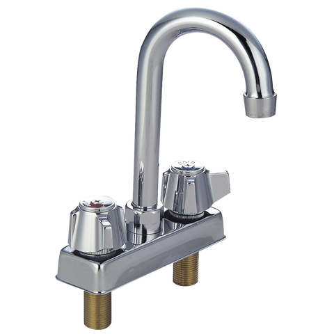 "superior-equipment-supply - BK Resources - BK Resources Workforce Standard Duty Faucet 5"" Gooseneck Spout"