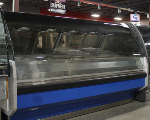 "superior-equipment-supply - Alto Shaam - Used Alto Shaam Full Service Hot Food Merchandiser 72"" Wide Curved Glass"