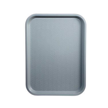 "Fast Food Tray BPA Free Polypropylene 10"" x 14"" Black"