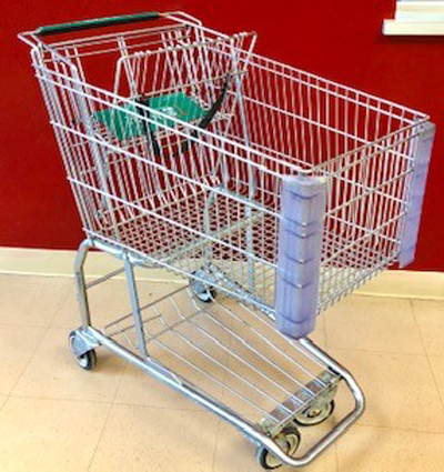 superior-equipment-supply - Superior Equipment & Supply - Used Supermarket Grocery Cart 3.5 Cu. Ft. – *Limited Quantity , 44 Available*