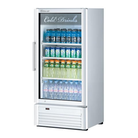 "superior-equipment-supply - Turbo Air - Turbo Air 25.75""Wide Stainless Steel One Section Refrigerated Merchandiser"