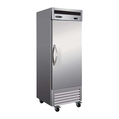 "superior-equipment-supply - MVP Group - IKON Stainless Steel Reach-In One Section Solid Door Freezer 26.8""W"