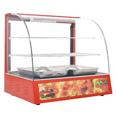 "Omcan 26"" Wide Food Warmer/Display Case"