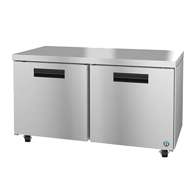 "superior-equipment-supply - Hoshizaki - Hoshizaki 60"" Wide Stainless Steel Two Section Reach-In Undercounter Freezer"