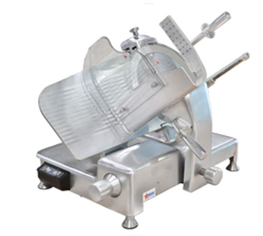 "Omcan Manual Meat Slicer 14"" Diameter Knife"