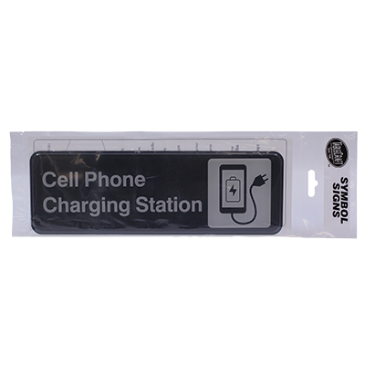 "Tablecraft Cash & Carry Sign ""Cell Phone Charging Station"""