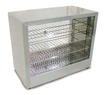 "Omcan 25"" Wide (4) Tier Food Warmer/Display Case"