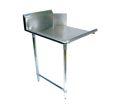 "superior-equipment-supply - BK Resources - BK Dishtable Straight Design, 48""W x 30-7/8""D x 46-1/4""H, Stainless Steel"
