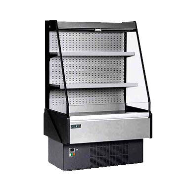 "superior-equipment-supply - MVP Group - Hydra-Kool Stainless Steel Multiplex Merchandiser 50""W"