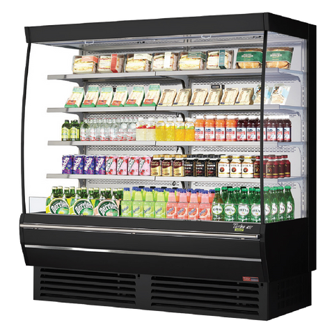 superior-equipment-supply - Turbo Air - Turbo Air 22. Cubic Feet Vertical Open Display Merchandiser