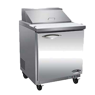 "superior-equipment-supply - MVP Group - IKON Stainless Steel Sandwich/Salad Prep Unit 30""W"