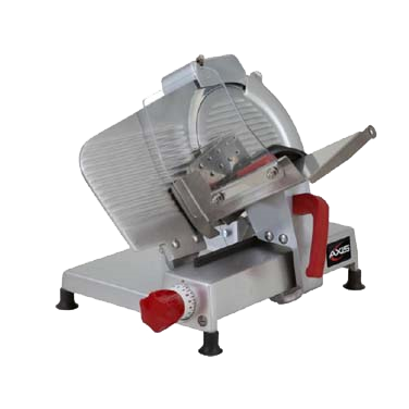 "superior-equipment-supply - MVP Group - Axis Manual Gravity Feed Food Slicer With 9"" Diameter Blade"
