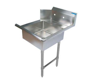 "superior-equipment-supply - BK Resources - BK Soiled Dishtable Straight Design, 26""W x 30-3/8""D x 46-1/4""H, Stainless Steel"