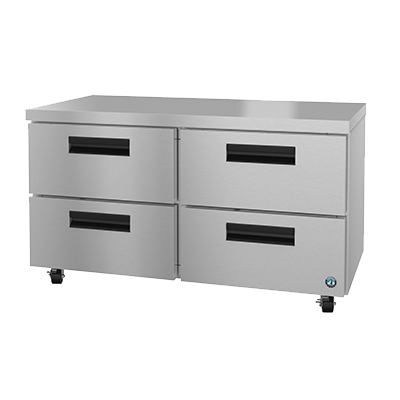 superior-equipment-supply - Hoshizaki - Hoshizaki Stainless Steel Two Section Four Drawer Undercounter Refrigerator