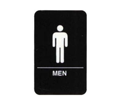 "Tablecraft Cash & Carry Sign ""Men"""