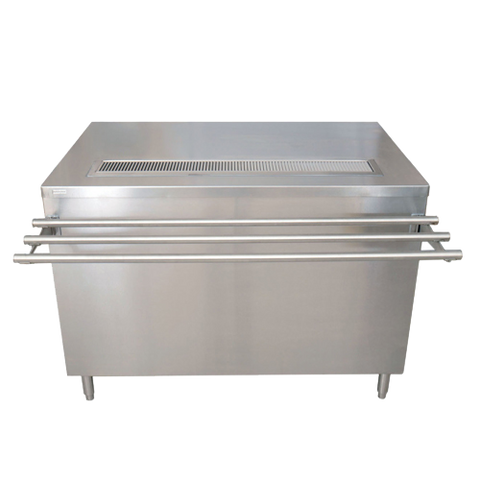 "superior-equipment-supply - BK Resources - BK Resources Stainless Steel Beverage Self-Serve Counter 48""W With Sliding Doors"