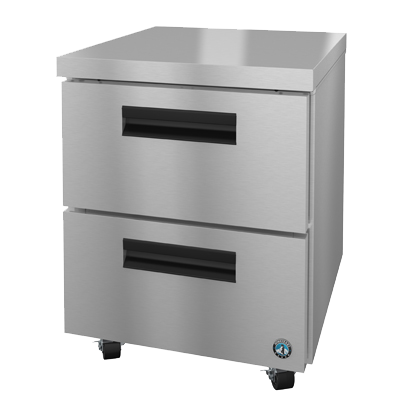 "superior-equipment-supply - Hoshizaki - Hoshizaki 27""W Stainless Steel Undercounter Reach In One-Section Refrigerator"
