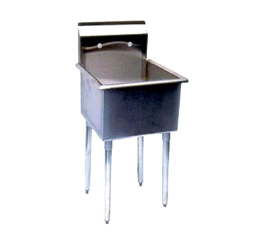 "superior-equipment-supply - Turbo Air - Turbo Air 21"" Wide Stainless Steel One Compartment Mop Sink"