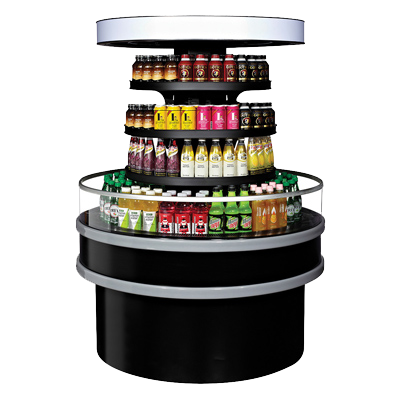 "superior-equipment-supply - Turbo Air - Turbo Air 48"" Wide Self-Service Refrigerated Display Island"