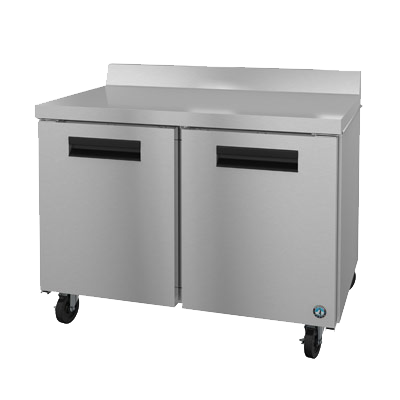 "superior-equipment-supply - Hoshizaki - Hoshizaki Stainless Steel 48"" WorkTop Freezer"