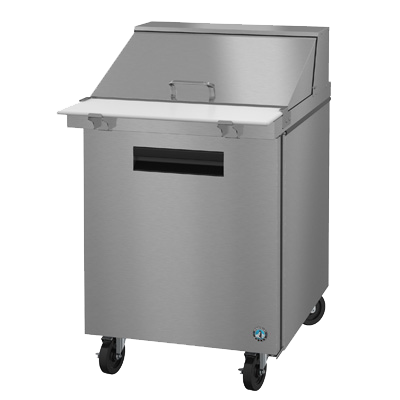 "superior-equipment-supply - Hoshizaki - Hoshizaki Stainless Steel 27"" Wide Reach In Refrigerated Sandwich Prep Unit"
