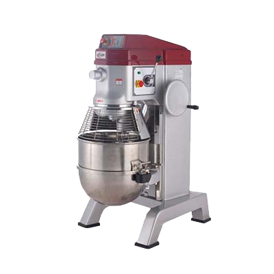 superior-equipment-supply - MVP Group - Axis Stainless Steel 80 Quart Floor Model Commercial Planetary Mixer