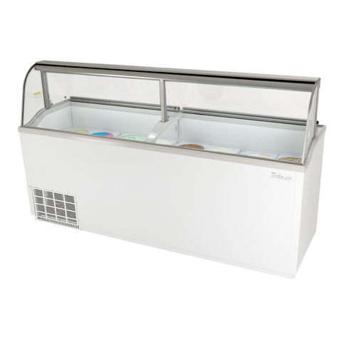 "superior-equipment-supply - Turbo Air - Turbo Air 89"" Wide Ice Cream Dipping Cabinet"