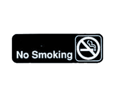 "Tablecraft Cash & Carry Sign ""No Smoking"""