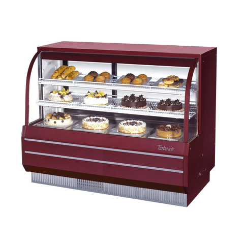 "superior-equipment-supply - Turbo Air - Turbo Air 60.5"" Wide Stainless Steel Non-refrigerated Bakery Case"