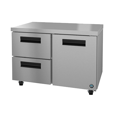 "superior-equipment-supply - Hoshizaki - Hoshizaki Stainless Steel 48"" Wide Two Section Undercounter Refrigerator"