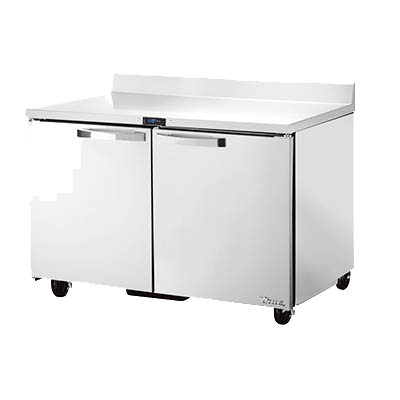 "superior-equipment-supply - True Food Service Equipment - True Spec Series Stainless Steel Two Section Work Top Freezer 48""W"