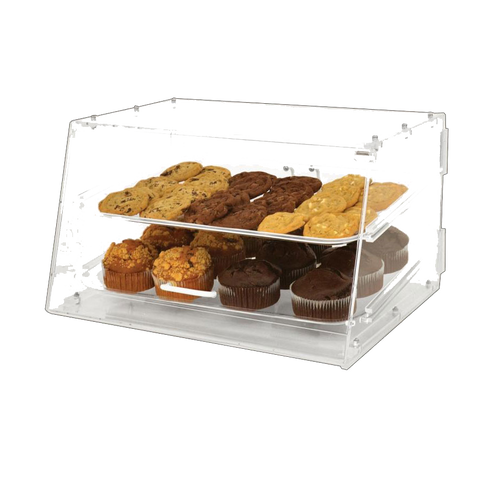 "Omcan 21"" Wide Acrylic Bakery Display Case"