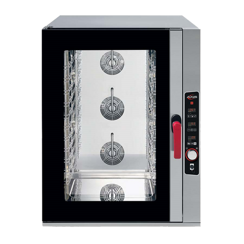 superior-equipment-supply - MVP Group - Full Size Stainless Steel Combi Oven With Four Shelves