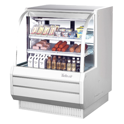 "superior-equipment-supply - Turbo Air - Turbo Air 48.5"" Wide Anti-Rust Coated Steel Refrigerated Deli Case"
