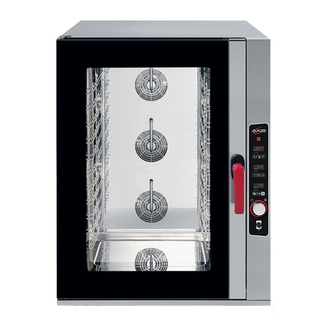superior-equipment-supply - MVP Group - Full Size Stainless Steel Combi Oven With Digital Controls