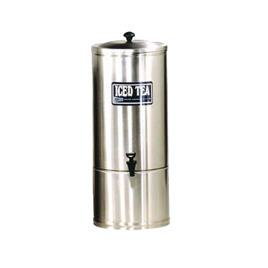 "Grindmaster Cecilware ""S"" Series Iced Tea Dispenser Portable 5 Gallon Stainless Steel"