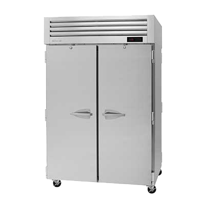 "superior-equipment-supply - Turbo Air - Turbo Air 51.75"" Wide Two-Section Stainless Steel Pass-Thru Heated Cabinet"