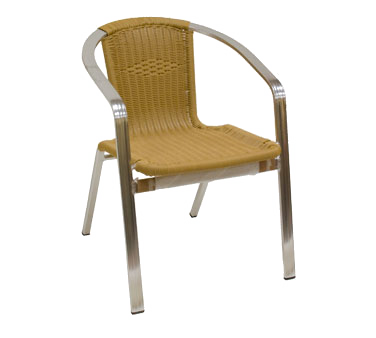 superior-equipment-supply - American Tables and seating - Indoor Natural Finish Bamboo Arm Chair